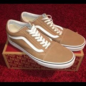 Vans Old Skool Tan Suede